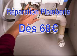 reparation plomberie