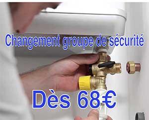 changement groupe sécurité