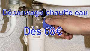 depannage chauffe eau