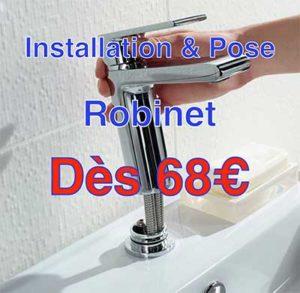 installation robinet